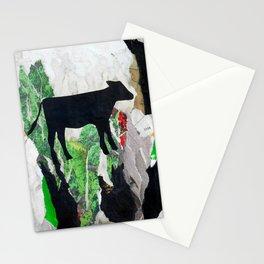 Walking free - Vegan Series - Original Painting by MARINA TALIERA Stationery Cards