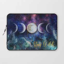 Celestial Ocean Moon Phases | Stay Wild Laptop Sleeve
