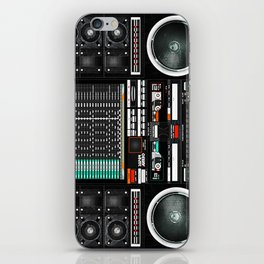 Boombox Ghetto J1 iPhone Skin