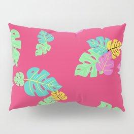 Baesic Tropic Leaves Pillow Sham