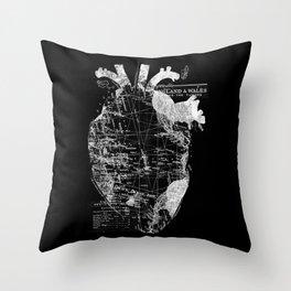 Heart Wanderlust Throw Pillow