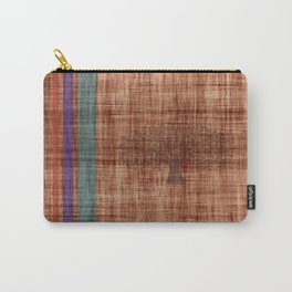 Old Fabric Carry-All Pouch