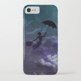 Mary Poppins in the sky with diamonds iPhone Case