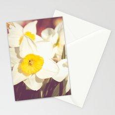 Daffodil flower Stationery Cards