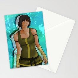 Korra - Heart of Steel Stationery Cards