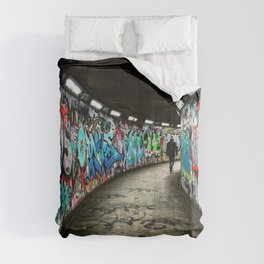 Subway Graffiti Art Comforters