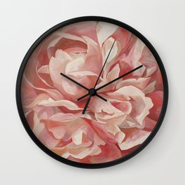 Lost in the Beauty Wall Clock