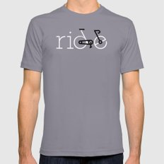 ride 16 Slate Mens Fitted Tee SMALL
