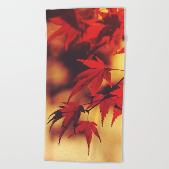 Indian Summer 3 Beach Towel