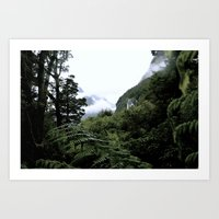 Fiordland Art Print