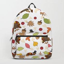 Thanksgiving Turkey pattern Backpack