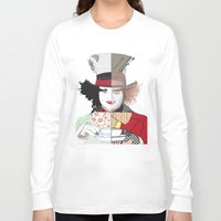 mad hatter Long Sleeve T-shirts featuring Mad Hatter by Maryamodi