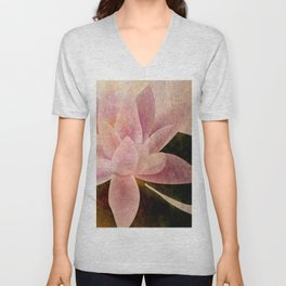 Lotus of my Heart Unisex V-Neck
