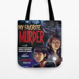 MFM: A Murder Mystery Tote Bag