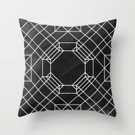 Seesaw origami Throw Pillow