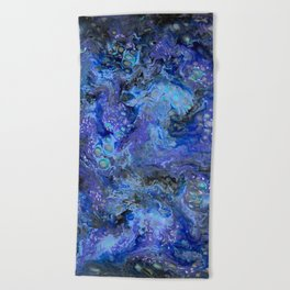 Nebulaic Eddy Beach Towel