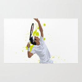 Roger Federer Rug