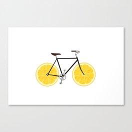Lemon Bike Canvas Print