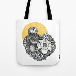 Honey Sun Bear Tote Bag