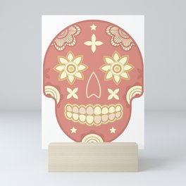 skull t-shirt Mini Art Print