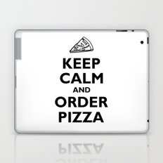 Keep Calm and Order Pizza Laptop & iPad Skin