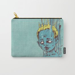 The Blue Boy with Golden Hair Carry-All Pouch