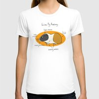 guinea pig T-shirts featuring Guinea Pig Anatomy by mausekonig
