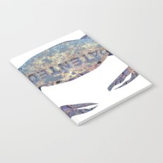Manhole Crab with Lace Notebook