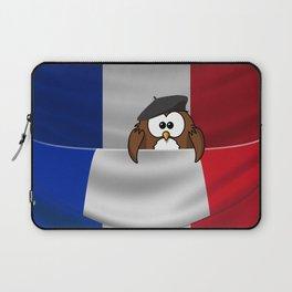 Frenchy owl Laptop Sleeve