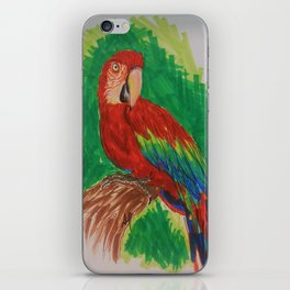 Macaw Parrot  iPhone Skin