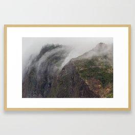Madeira Fog Framed Art Print