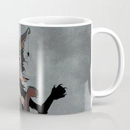 Naughty Vampire Cat Coffee Mug