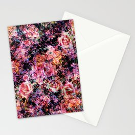 Polychromatic Roses Stationery Cards