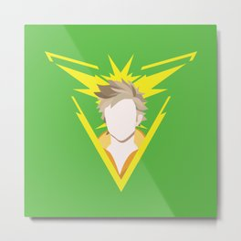 Team Instinct leader - Spark Metal Print