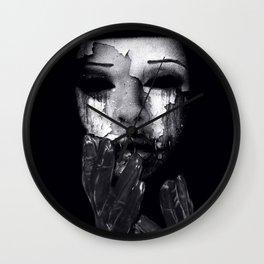 My Mask Wall Clock