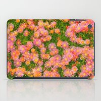 blanket iPad Cases featuring Daisy Blanket by Kaitlynn Lewis