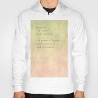 serenity Hoodies featuring Serenity by Cullen Rawlins