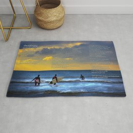 Desiderata for Surfers Rug