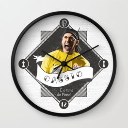 Cássio / É o Time do Povo Wall Clock