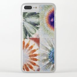 Aesthetes Formation Flowers  ID:16165-122917-34680 Clear iPhone Case