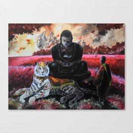 Shangri-La Art - Garnet Canvas Print