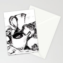 Clay and Cloth Still Life Stationery Cards