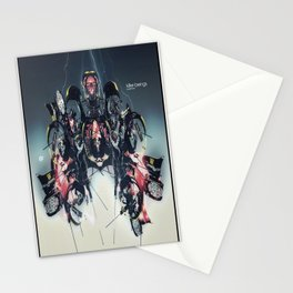 Killer Beings Stationery Cards