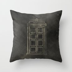 Doctor Who: Tardis Throw Pillow