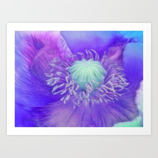 The Colour Purple Art Print