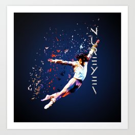 Fanfare for Nureyev Art Print