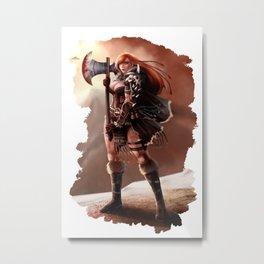 Barbarian 01 Metal Print