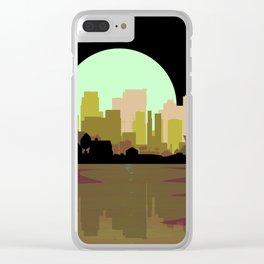 Lightning Strike City Clear iPhone Case