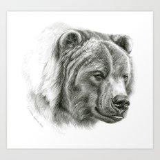 Brown Bear G2012-054 Art Print