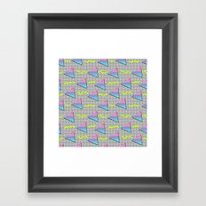 Fun Pattern Framed Art Print